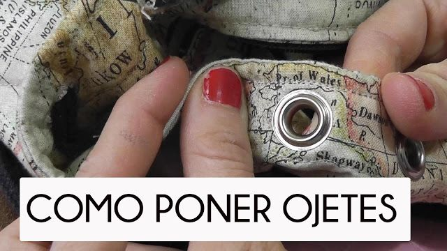 TUTORIAL DE COMO PONER OJETES | nairamkitty crafts | Bloglovin'