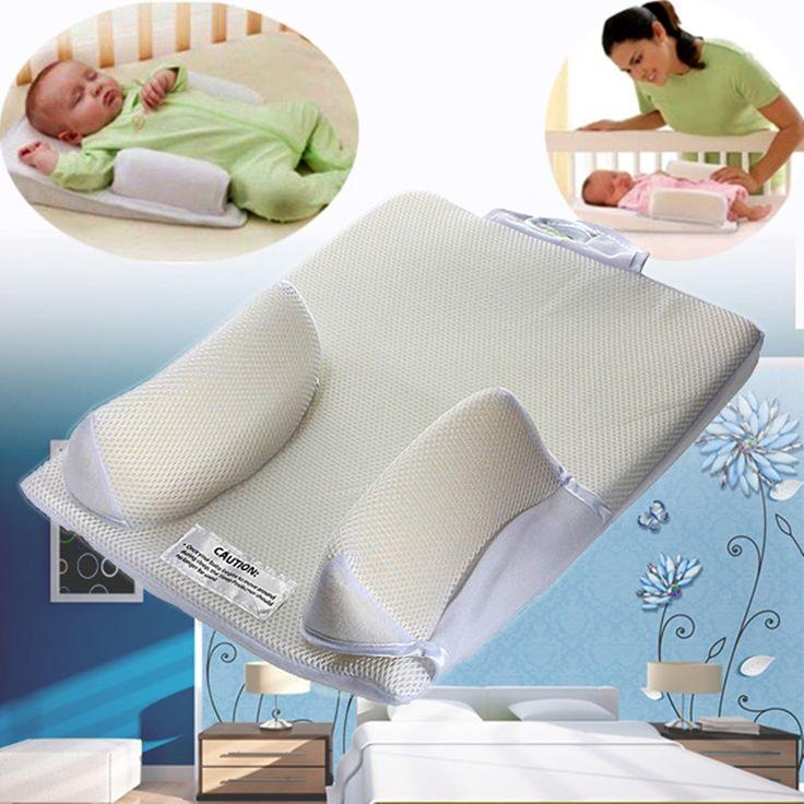 Baby care infant newborn anti roll pillow u ltimate vent