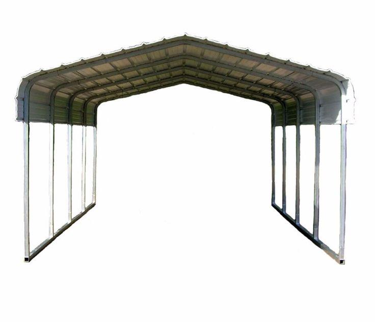 Boat Shelter Canopy : Classic carport car truck boat shelter large port