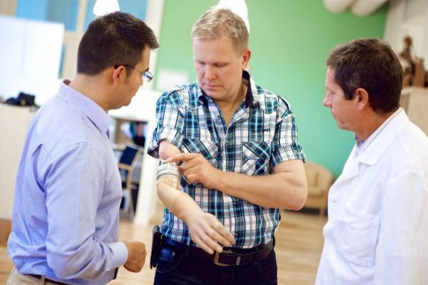 The first implanted mind-controlled prosthetic arm has restored a patient's sense of touch!!!