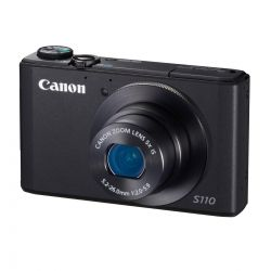 Canon Powershot S110 negru - 12.1 mpx, zoom optic 5x, LCD 3 - F64
