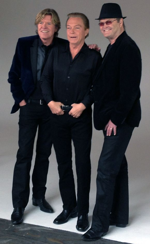 MickyDolenz (The Monkees) with Peter Noone and David Cassidy