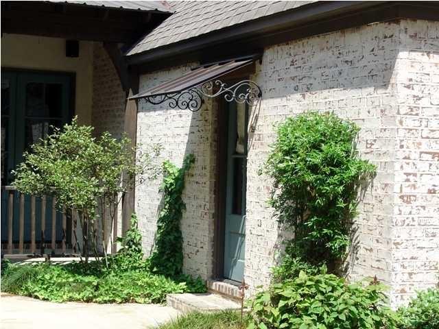 simple metal canopy and iron brackets over door & 59 best Door canopy images on Pinterest | Entrance doors Facades ...