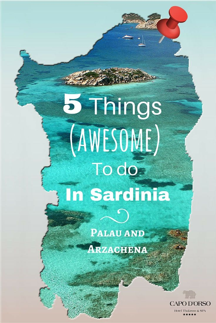 5 #thingstodo (after the beach) between Palau and Arzachena in #Sardinia during…