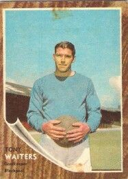 Blackpool goalkeeper Tony Waiters in 1964.
