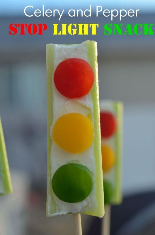 Sweet And Savory Stop Lights. Celery SnacksCelery RecipesVeggie ...