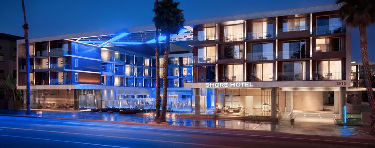 Santa Monica Resort - Santa Monica Luxury Hotels - Shore Hotel Santa Monica