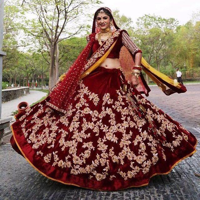 Beautiful bride in Shyamal & Bhumika Collection | Designer : @shyamalbhumika #bigindianwedding #indianwedding #indianbride #designerlehenga #bridallehenga #bride #wedding #lehenga #lehengadesign #maroonlehenga #embroidery #bridalbeauty #lehengalookbook #bridaljewelry #bridallook #indiandesigner #bridaldiaries #bridalwear #bridalfashion #bridallookinspiration