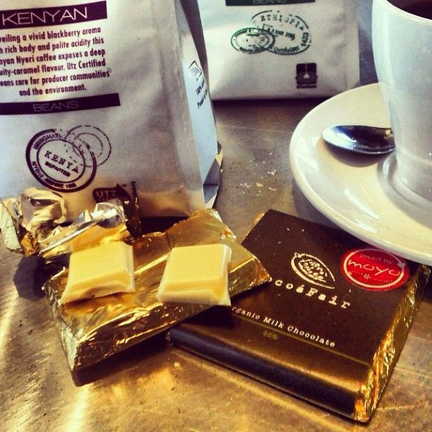 It's good for you :) - #Coffee #Chocolate