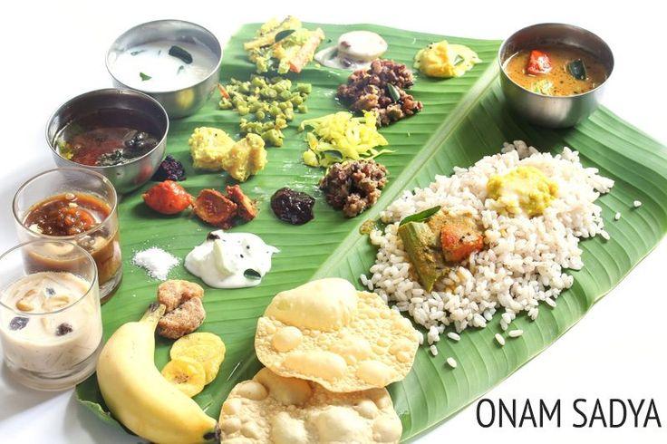 Collection of 21 Onam Sadya Recipes