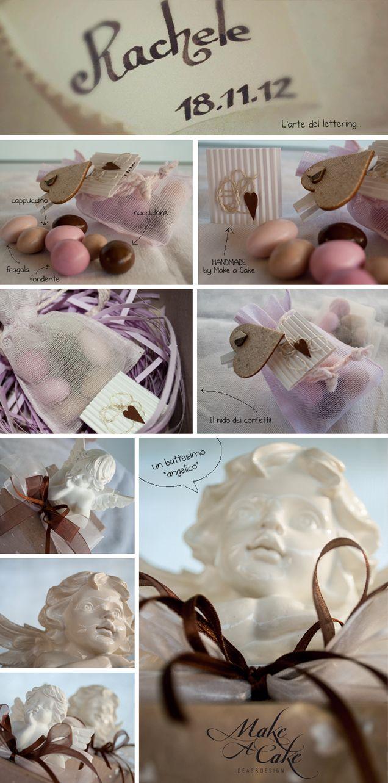 Un battesimo angelico, ma di carattere! - Make a Cake