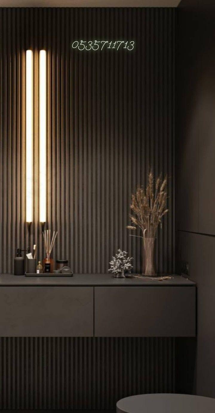 طاولة كونسول طاولة كونسول خشب ديكور طاولة كونسول جداري خشب الرياض 0535711713 In 2021 Home Room Design Home Decor Room Design