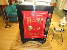 Antique Safe Wells Fargo & Co 1850-1910 Combination Safe
