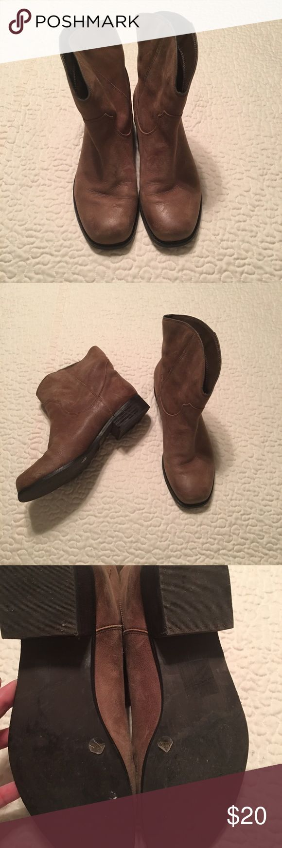 Jessica Simpson boots Great boot to wear with leggings, skirts, dress, shorts! Worn for sure plenty of times but plenty of life in them. Jessica Simpson Shoes Ankle Boots & Booties