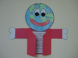 """Here is a free writing """"craftivity"""" for Earth Day."""