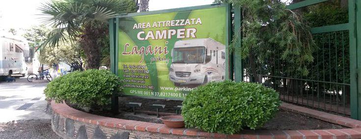 Parking Lagani GiardiniNaxos (ME) Campeggi, Giardino e
