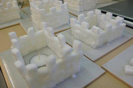 Lumilinna sokeripaloista