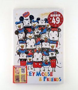 Disney Mickey Mouse and Friends Notebook / Letter Paper