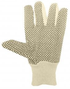 http://ca.en.safety.ronco.ca/products/71/ronco-cotton-canvas-glove RONCO Cotton Canvas Glove With PVC Dots RONCO cotton canvas gloves with PVC dots are comfortable, breathable and washable for reuse. They are preferred by workers in automotive and warehouse applications and offer good grip for dry/wet general maintenance or parts handling.