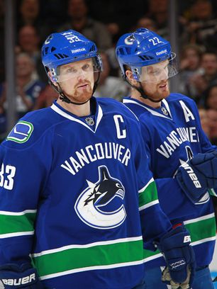 Love these two and the link has a great article on the Sedin Twins.