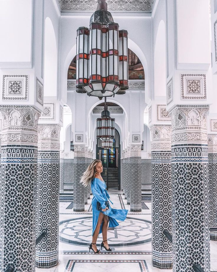 "7,918 gilla-markeringar, 79 kommentarer - Angelica Blick (@angelicablick) på Instagram: ""Most instagramed place in Marrakech maybe but I can understand why """