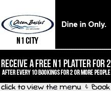 Booking Coupon - Ocean Basket N1 City, Cape Town
