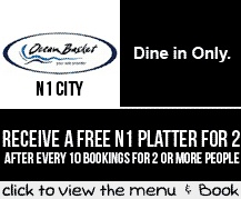 Booking Coupon - Ocean Basket N1 City, Cape Town
