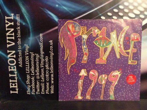 "Prince 1999 12"" Single EP W1999T 920144-0 Film Movie Pop 80's Music:Records:Albums/ LPs:Pop:1990s"