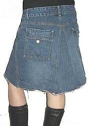 4panel A-line jeans skirt; try different fabrics in the panels/Cairo skirt-style ruffle panels/lace overlay!  Eeeeeeeeeeeeeeeeeee!