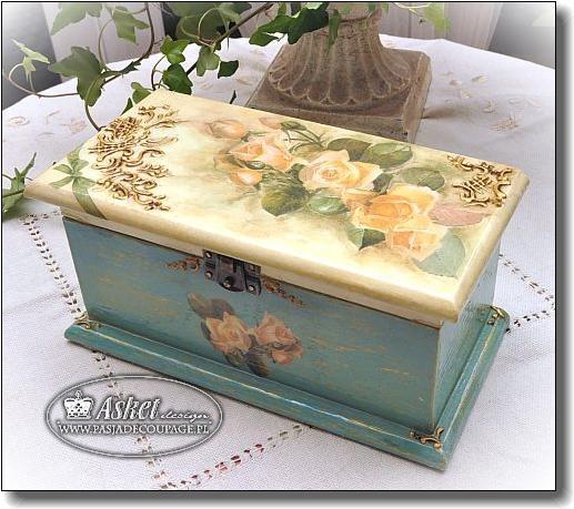 Decorative Recipe Box 2: 149 Best Images About Cajas On Pinterest