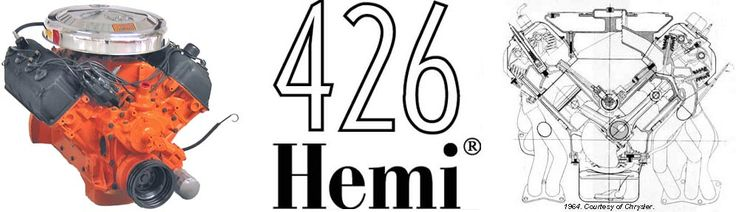 "Dodge 426 C.I. Hemi-head engine ""Mopar Power""   426 hemi introduction by steve boelhouwer"