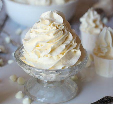 2 Ingredient White Chocolate Buttercream