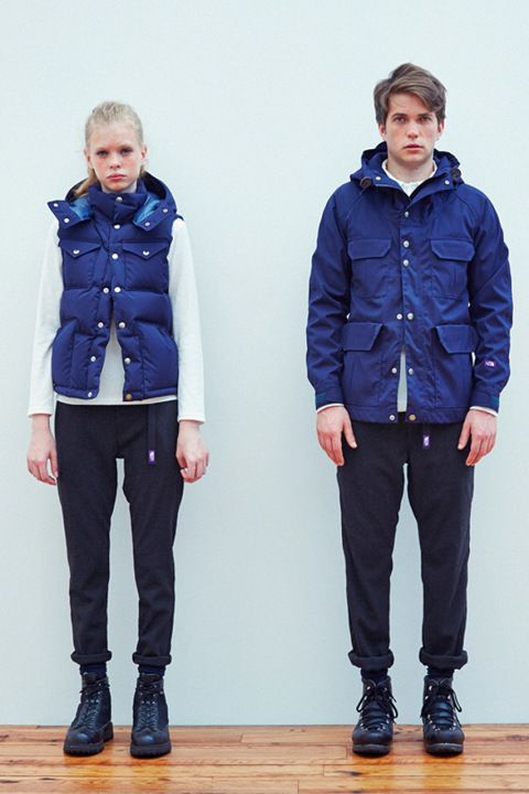 Image of THE NORTH FACE PURPLE LABEL 2013 Fall/Winter Lookbook