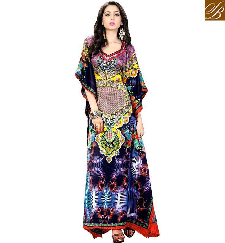 CAPTIVATING PARTY WEAR KAFTAN DESIGN SKKF5008 – Stylish Bazaar