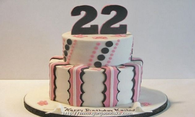 22nd birthday cakes for her Picture