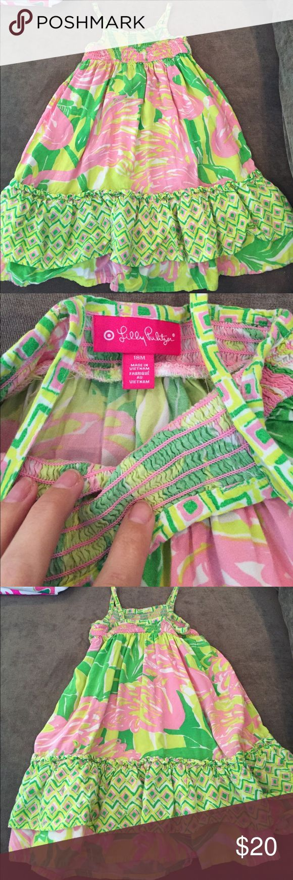Lilly Pulitzer for Target Maxi Lilly Pulitzer for Target, kids Maxi dress. Good used condition. Lilly Pulitzer Dresses Casual