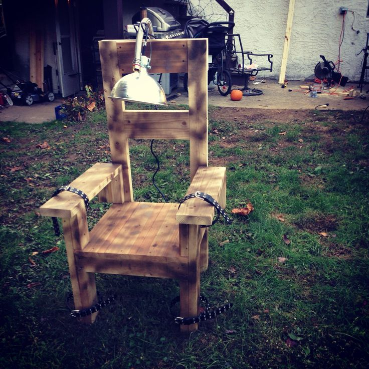 electric chair plans halloween. diy electric chair plans halloween