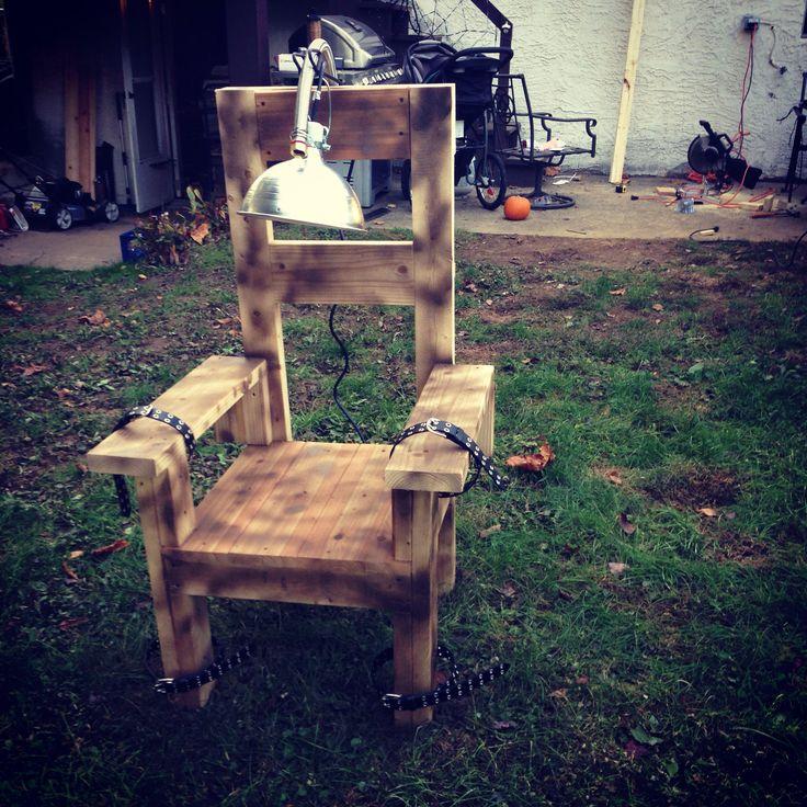 Diy electric chair - Best 25+ Electric Chair Ideas On Pinterest DIY Halloween