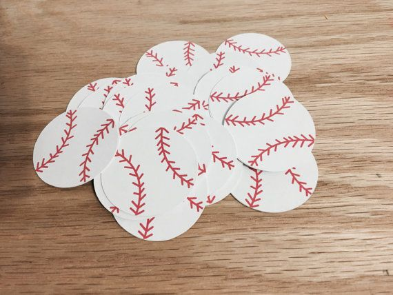 baseball cutouts,baseball party, party decoration, garland, confetti, mobile, baseball die cut, boy birthday, baseball themed party
