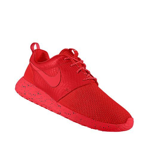 I designed this at NIKEiD. All Red Roshe Runs