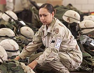 Lori Piestewa - Hopi // A member of the Hopi tribe, Piestewa was the first Native American woman in history to die in combat while serving with the U.S. military and the first woman in the U.S. armed forces killed in the 2003 invasion of Iraq. Arizona's Piestewa Peak is named in her honor.