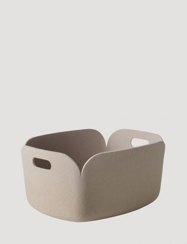 Restore - Modern Scandinavian Design Storage Basket by Muuto - Muuto