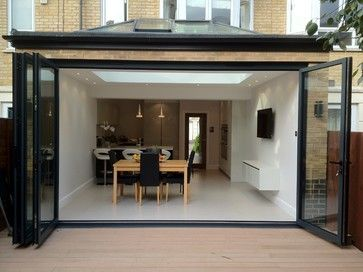 Frameless Roof Light Kitchen Design Ideas, Pictures, Remodel and Decor