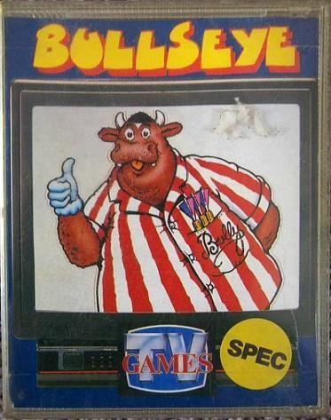 Bullseye cassette game for the ZX Spectrum