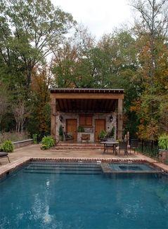 Rustic Pool House Ideas