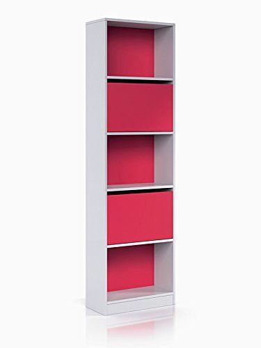 muy buena Estantería con puertas de 52 cms. ancho en color blanco y magenta modelo HUELVA Encuentra más en http://www.cunas-para-bebes.net/tienda/producto/estanteria-con-puertas-de-52-cms-ancho-en-color-blanco-y-magenta-modelo-huelva/