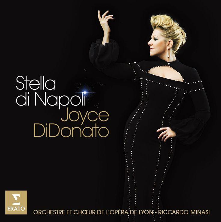 Joyce DiDonato - Stella di Napoli - The Music Gala      Orchestre et Chœur de l'Opéra de Lyon / Riccardo Minasi, conductor / Erato, 2014 http://themusicgala.com/opera/joyce-didonato-stella-di-napoli/?utm_campaign=crowdfire&utm_content=crowdfire&utm_medium=social&utm_source=pinterest