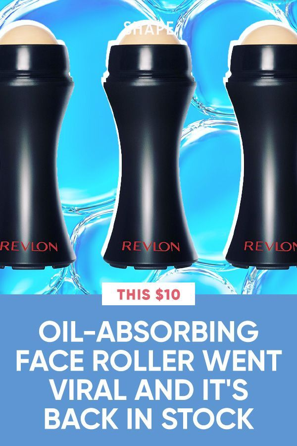 This 10 Oil Absorbing Face Roller Went Viral On Tiktok And It S Back In Stock In 2021 Oil Absorbing Face Roller Oils