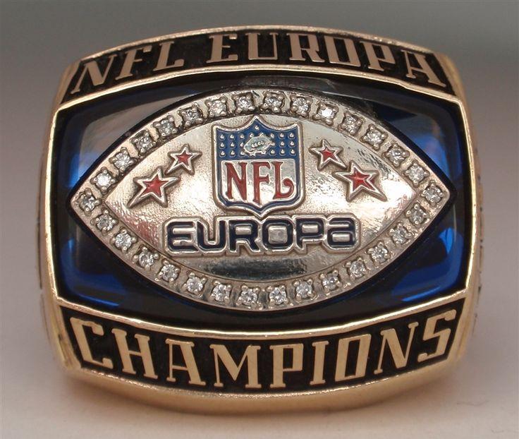 NFL Europe Championship ring!!