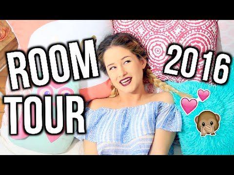 ROOM TOUR 2016! | Emma Verde - YouTube